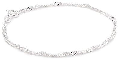 am modischsten neueste kaufen retro Pasionista Silberarmband Damen Armband 925 Sterling Silber 15 cm inkl.  Geschenketui Damenarmband made in germany