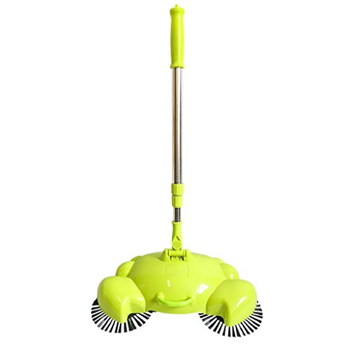 VIASA New 360 Rotary Home Use Floor Dust Sweeper (Green)