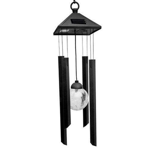 Energia solare luce senza fili impermeabile metallo girandola a vento LED luce da giardino, cortile lampada da prato luce ZONYEE