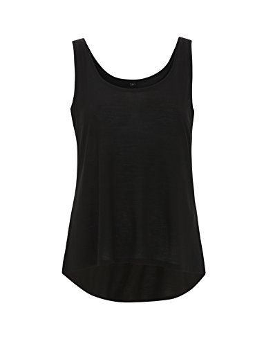Yohjis Tees - Camiseta sin mangas - para mujer negro