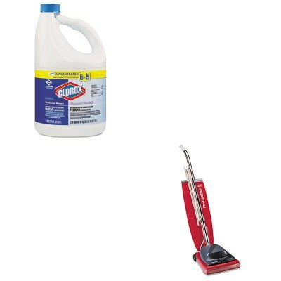 KITCOX30966CTEUKSC684F - Value Kit - Clorox Germicidal Bleach (COX30966CT) and Commercial Vacuum Cleaner, 16quot; (EUKSC684F)