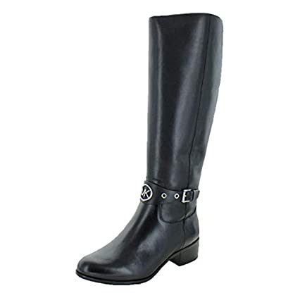 Michael Michael Kors Womens Heather Leather Almond Toe Knee High Fashion Boots 1
