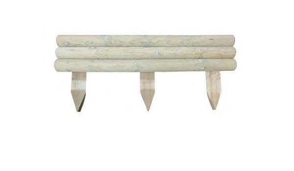 ITALFROM - Cenefa, cercado rígido horizontal, para parterres de ...