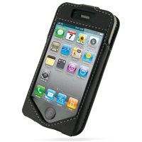 PDair Sleeve Type Leather Case for iPhone 4 / 4S