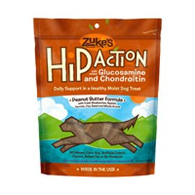 Zuke`s Hip Action Dog Treat Peanut Butter 1lb, My Pet Supplies