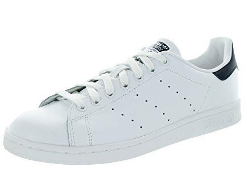 adidas Herren Originale Stan Smith Sneaker Run Weiß / Dunkelblau
