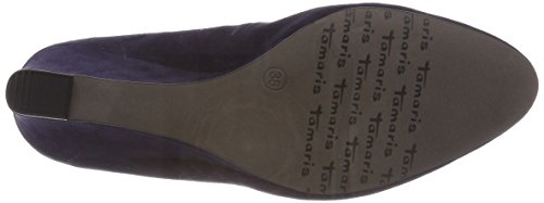 22468 Pumps Suede Damen Blau Navy Tamaris 5wq6H4