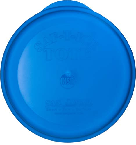 San Jamar Saf-T-Ice Commercial Ice Tote Snap-Tight Lid by San Jamar (Image #2)