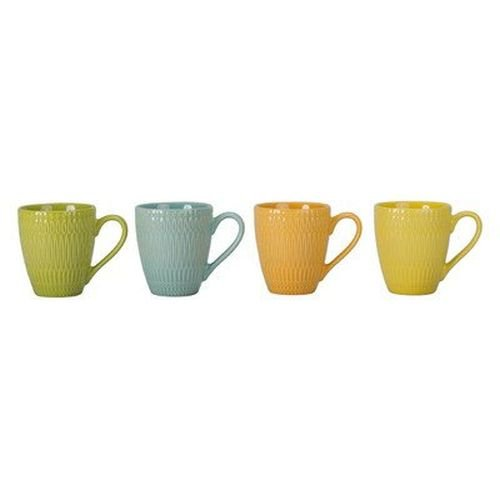 4 Piece Trina Fashion Mug Set (Set of 4) [Set of 4]