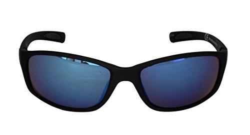 100 UV Cadre Hommes Miroirs Style bras et soleil FG109 Sports SPVL14928 Lunettes Grant en Protection RV ANCHOR Bleu Foster VL CAT plastique de UV400 2 Caoutchouté Noir Wrap HgZS8qn