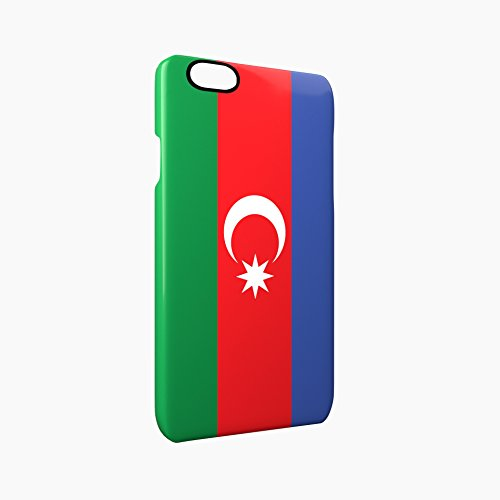 Flag of Azerbaijan Glossy Hard Snap-On Protective iPhone 6 / 6S Case Cover
