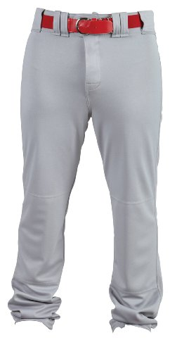 Rawlings Men's Premium Unhemmed PPU140 Pant, Blue Grey, 30X37 (Unhemmed Pant Baseball)