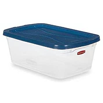 Amazoncom Rubbermaid Storage Container 65 Quart Lidded Home