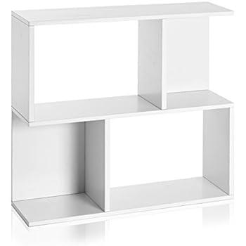 Way Basics Eco Soho Bookcase, Side Table And Storage Shelf, White (made From