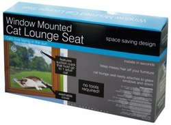 WMU Window Mounted Cat Lounge Seat by WMU