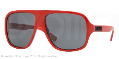 BURBERRY BE 4081 320187 Red Grey Sunglasses - Red Burberry Sunglasses