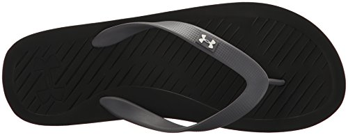 Under Armour UA M Atlanticdune T, Zapatos de Playa y Piscina Para Hombre, Negro (Black), 47.5 EU
