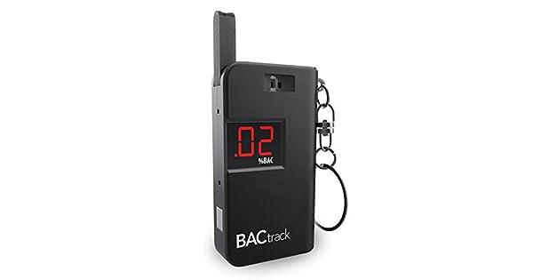 Amazon.com: BACtrack - Alcoholímetro para llavero (negro ...