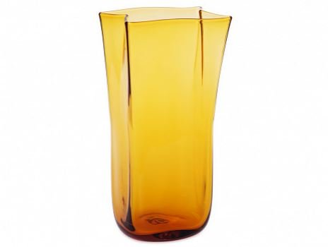 Amazon.com: Blenko Paper Bag Vase (Topaz): Home & Kitchen on blenko bubble vase, blenko small vase, blenko handmade vase, blenko hourglass vase, blenko amber vase, blenko blue vase, blenko ruffled vase, blenko clear vase, blenko green vase, blenko 1957 19 1 2 vase, blenko amethyst vase, blenko tangerine vase,