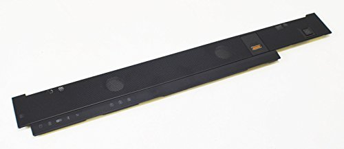 - New Genuine OEM DELL Laptop Precision M6400 Power Button Media Bar Cover Center Strip Hinge FingerPrint Reader Biometric Finger Swipe W180F