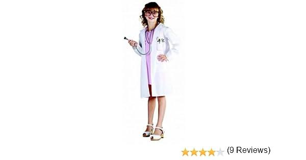 Disfraz de doctora para niña: Amazon.es: Juguetes y juegos