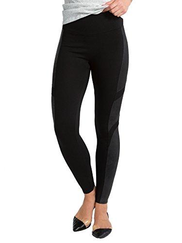 SPANX Women's Moto Leggings, Very Black, ()