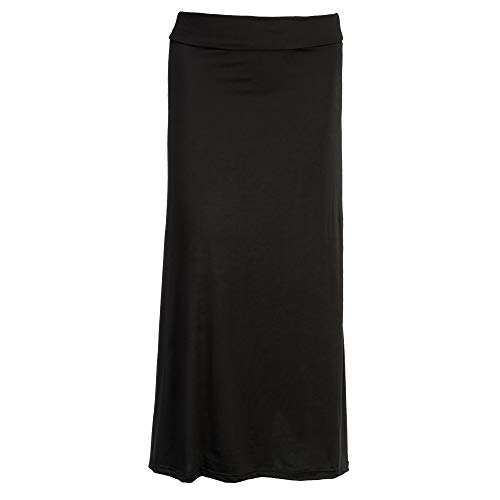 Arianna by Howard's Black Maxi Skirt Large