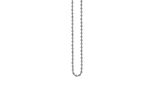 Long and Lovely Cz Multi Station DiamondJewelryNY Silver Pendant