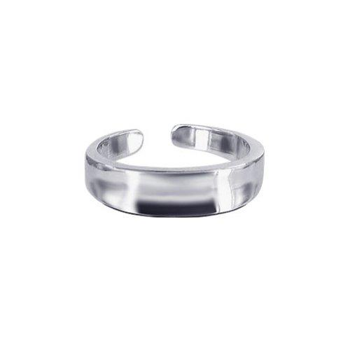Gem Avenue 925 Sterling Silver Toe Ring for (Gem Avenue Toe Ring)