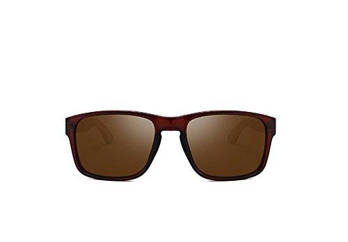 de Lunettes uv B de lentilles couleur hommes anti soleil Lunettes 6xRqOx