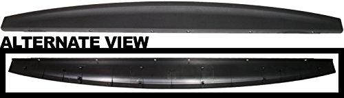 APDTY 037689 Truck Tailgate Top Plastic Molding Fits 2009-2016 Dodge Ram 1500 Pickup 2010-2016 2500 3500 Pickup (Replaces Mopar 55372052AH, 55372052AB, 55372052AD)