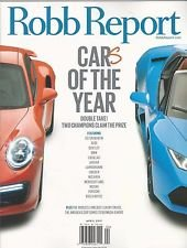 Robb Report Magazine (April, 2017) Cars Of The Year pdf