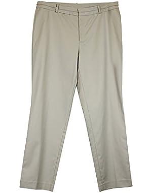 Calvin Klein Tapered Leg Dress Pants Khaki