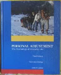 Personal Adjustment: The Psychology of Everyday Life