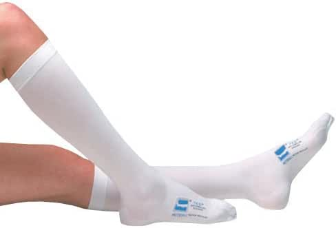 Kendall T.E.D. Knee Length Anti Embolism Stockings, Medium, White