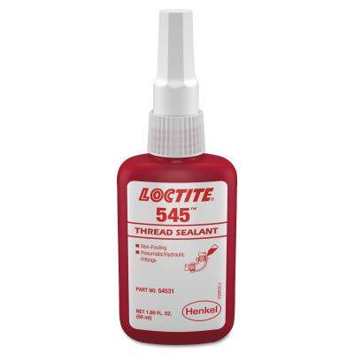 Loctite 234428 54505 Thread Sealant, 545 Hydraulic/Pneumatic Seal, 0.5 mL