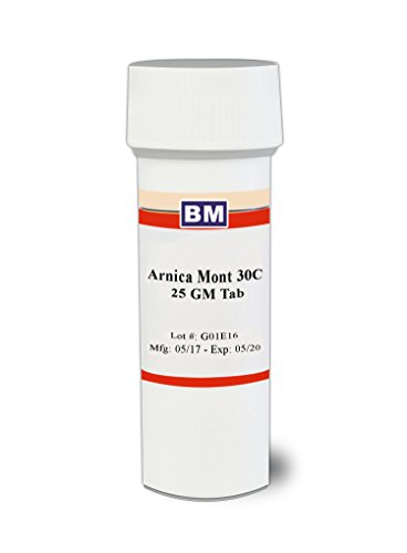 Arnica Montana Homeopathy - Arnica Montana 30c, 300 pellets, Natural Pain Relief for Shoulder, Neck & Back Pain, Effective Remedy for Bruising & Muscle Soreness from Overexertion or Injury, Use for Strains, Sprains & Swelling