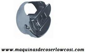 Kit 1 canillero Cerrado + 2 canillas metalicas para máquinas de ...