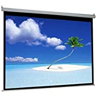 VIVO 100 Electric Projector Screen, Motorized, Auto Remote 4:3 Projection Mount 80 x 60 (PS-E-100V)