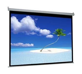 "VIVO 100"" Electric Projector Screen, Motorized, Auto Remote 4:3 Projection Mount 80"" x 60"" (PS-E-100V)"