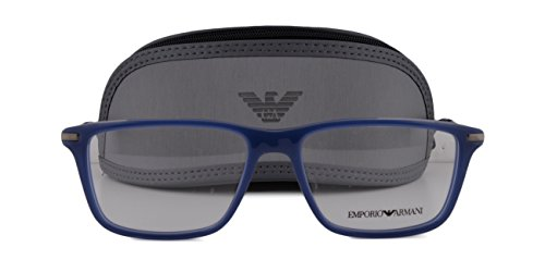 Emporio Armani EA 3063 Eyeglasses 55-16-140 Opal Marine Blue 5383 - Sunglasses Marin Jacob