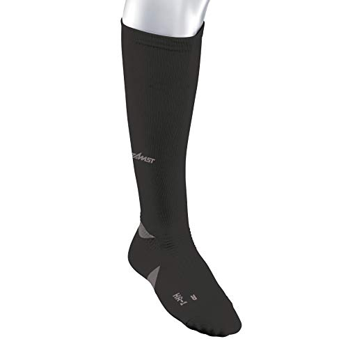 Zamst HA-1 Compression Socks, Black, Medium