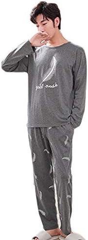 パジャマ ルームウェア リラックス ウェア 綿100% 上下セット メンズ