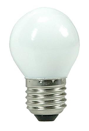 Elix Belgium-Bombilla Led, casquillo E27, tipo de Ping-Pong decorativa 1W consumo: Amazon.es: Iluminación