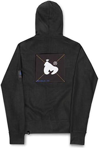 Money Color Pack Zip Hood Black