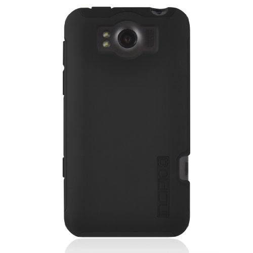 Incipio ht-242HTC Titan Silicrylic Schutzhülle Hartschale Schutzhülle mit Silikon Core–1Pack–Tragetasche–Retail Verpackung–Schwarz/Schwarz