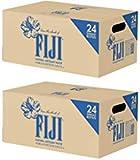 Fiji Natural Artesian Water, 16.9 Fl Oz (Pack of 24 Bottles) (2 Boxes, 24 Pack, 500mL Bottles)
