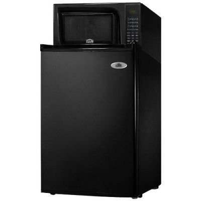 Summit 18.5-Inch 2.5 Cu. Ft. Microwave-Refrigerator Combo - Black