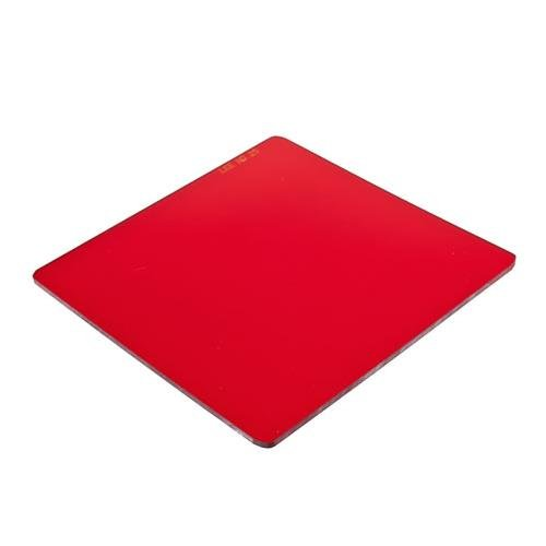Lee Filters Tricolor Red #25 Filter 4x4'' Resin