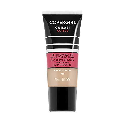 Covergirl Outlast Active Foundation, Medium Beige, 1 Ounce